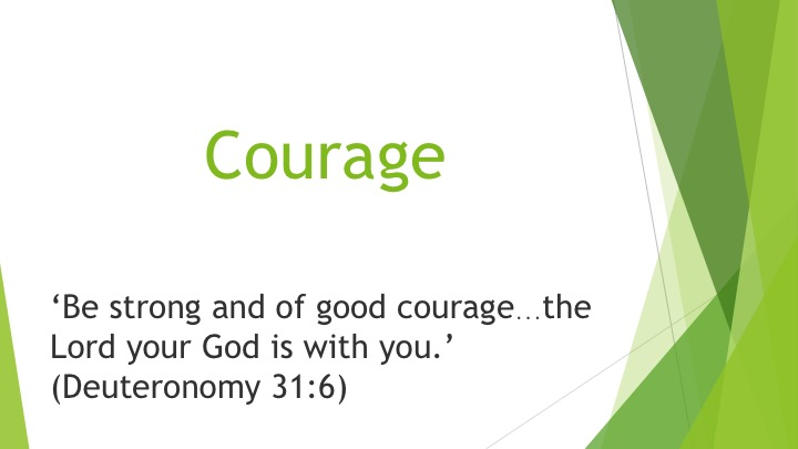 7.Courage